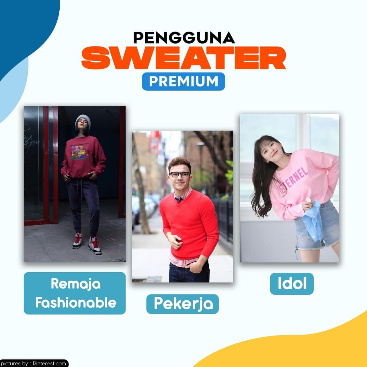 Pengguna Sweater Premium Idol