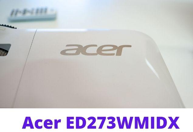 Acer ED273 display 2