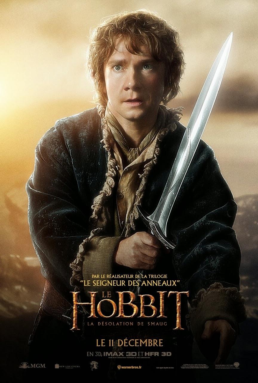 The Hobbit: The Desolation of Smaug (2013) - Bilbo Baggins ...