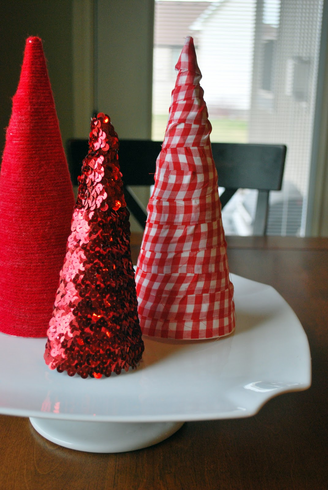Larissa Another Day Poster Board Cone Christmas Trees