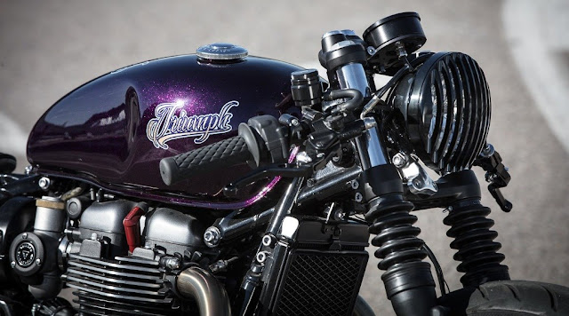 Bobber Triumph par Down & Out