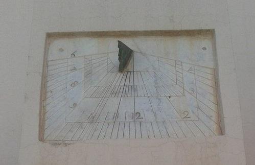 الساعة الشمسية بضريح أبي العباس السبتي بمراكش