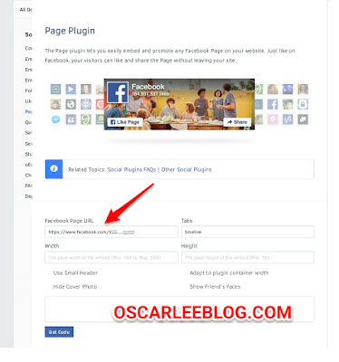 Facebook like widget in blogger