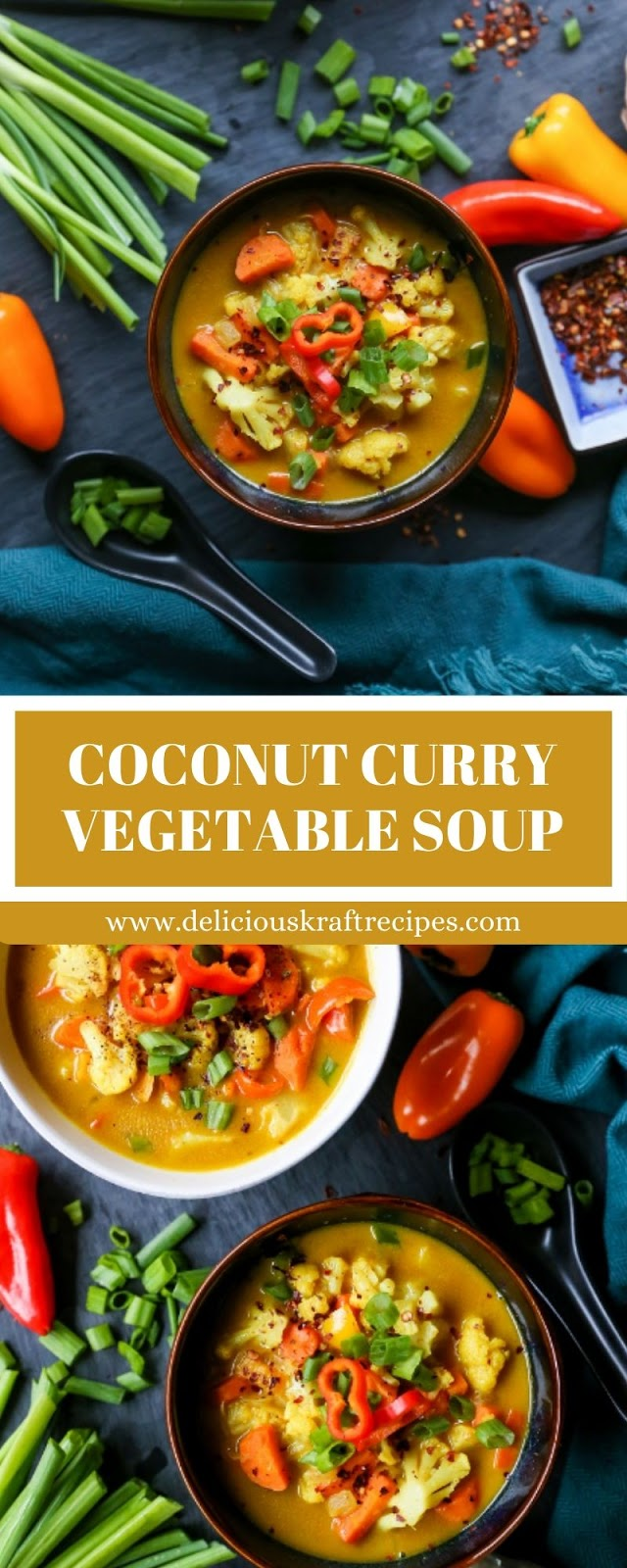 COCONUT CURRY VEGETABLE SOUP