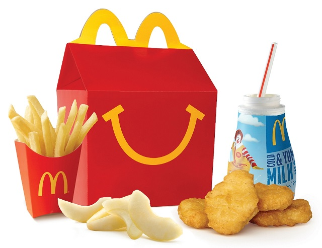McDonald's Chicken Nugget Happy Meal