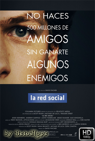 La Red Social [1080p] [Latino-Ingles] [MEGA]
