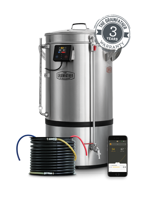 Grainfather élargit enfin sa gamme et son volume avec le Grainfather G70