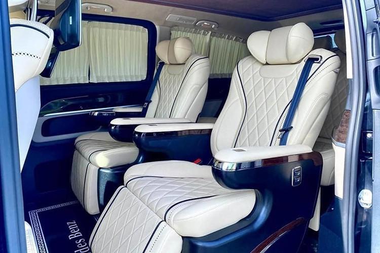 Chi tiết Mercedes-Benz V-Class độ Maybach hơn 2,2 tỷ ở Sài Gòn