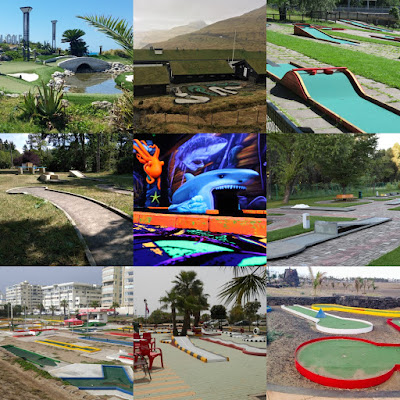 Minigolf courses around the world