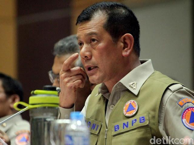 Ketua Gugus Tugas Percepatan Penanganan COVID-19 Letjen Doni Monardo. (Foto: Lamhot Aritonang)