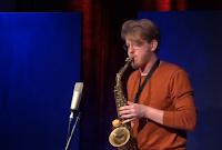 solo jazz saxophone