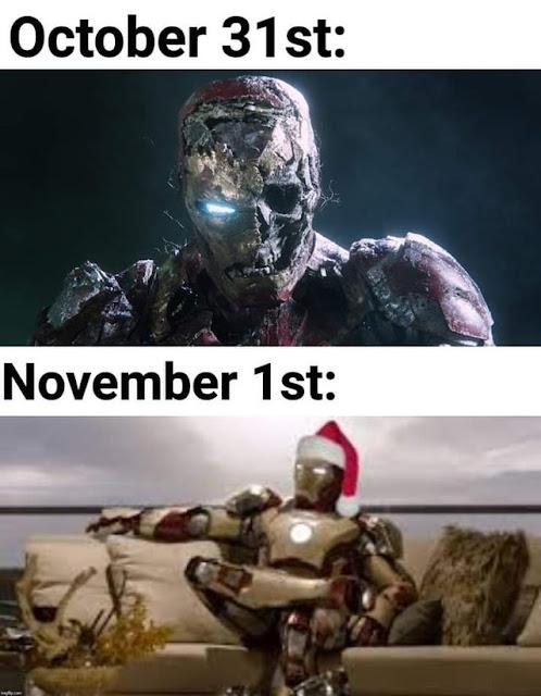 Its Festive season boys
