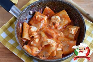 طريقة عمل باستا باتشيري مع الطماطم