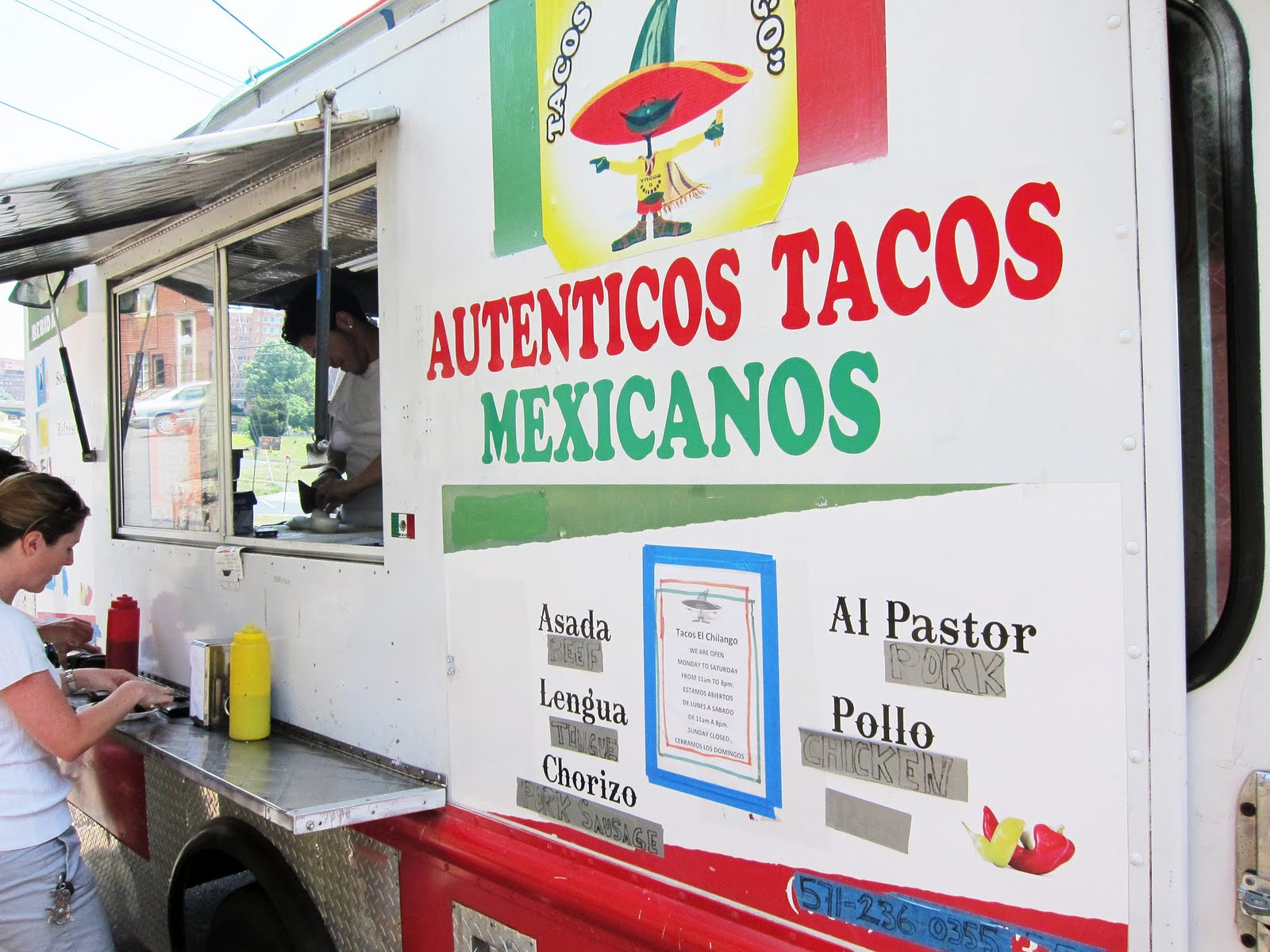 El Chilango Food Truck Arlington Va