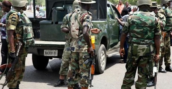 BREAKING: Nigerian Army Seizes Corpses Of Peaceful #EndSARS Protesters Massacred By Security Operatives In Lekki