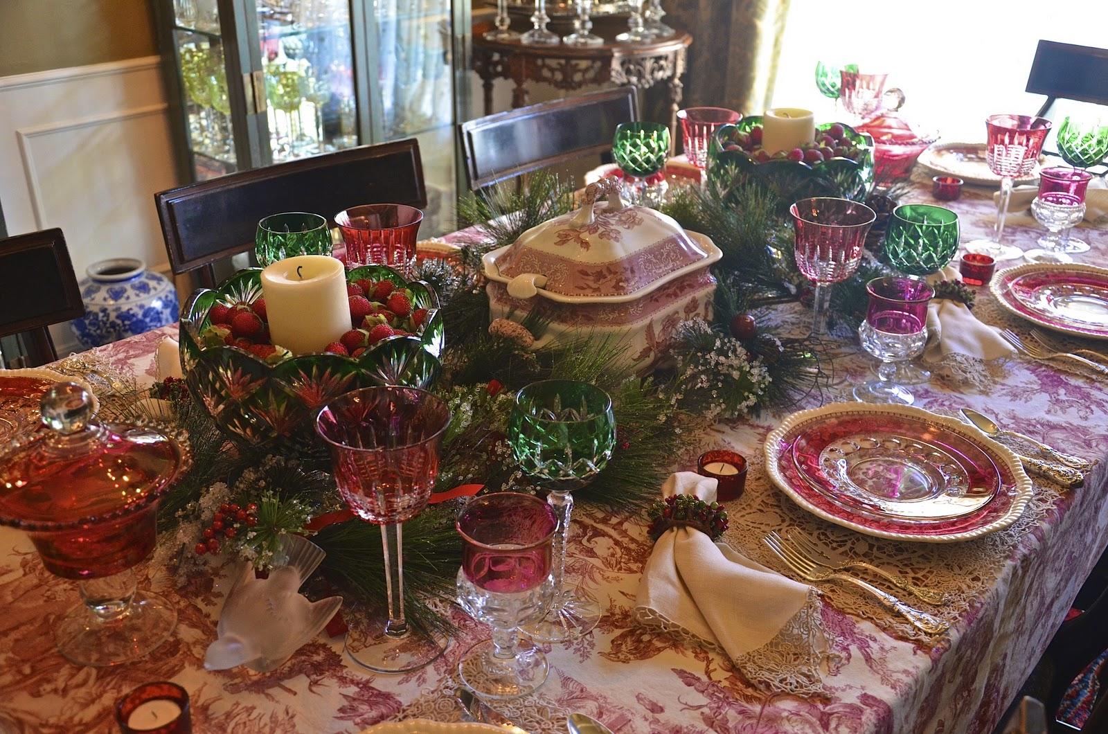 Williams Sonoma Christmas Table.Cranberry Christmas Entertaining Women