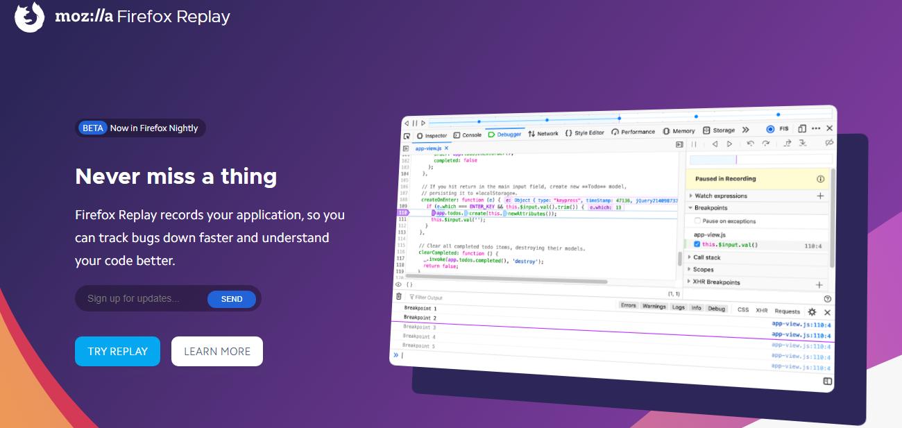 موزيلا (Mozilla) تطلق أداة جديدة سيحتاجها كل مبرمج