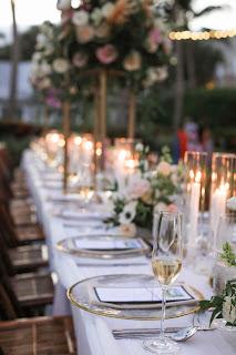 wedding reception details on captiva island