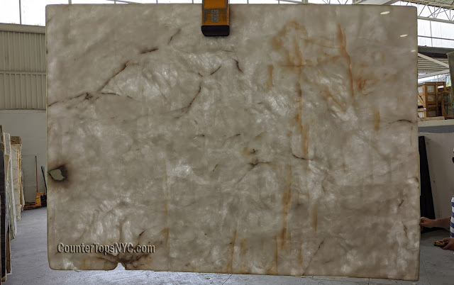 Lumix White Quartzite Slabs