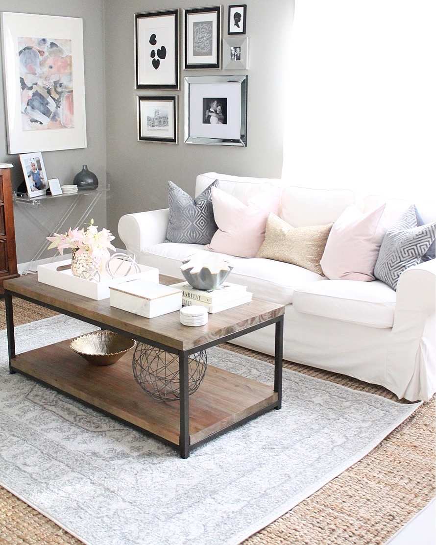 12th and White: Get the Look: Layered Rugs