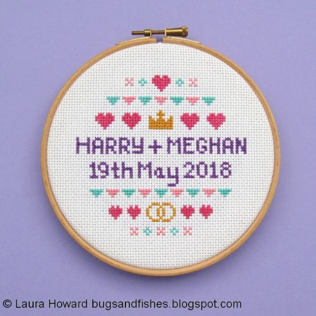 Royal Wedding 2018 Cross Stitch Pattern
