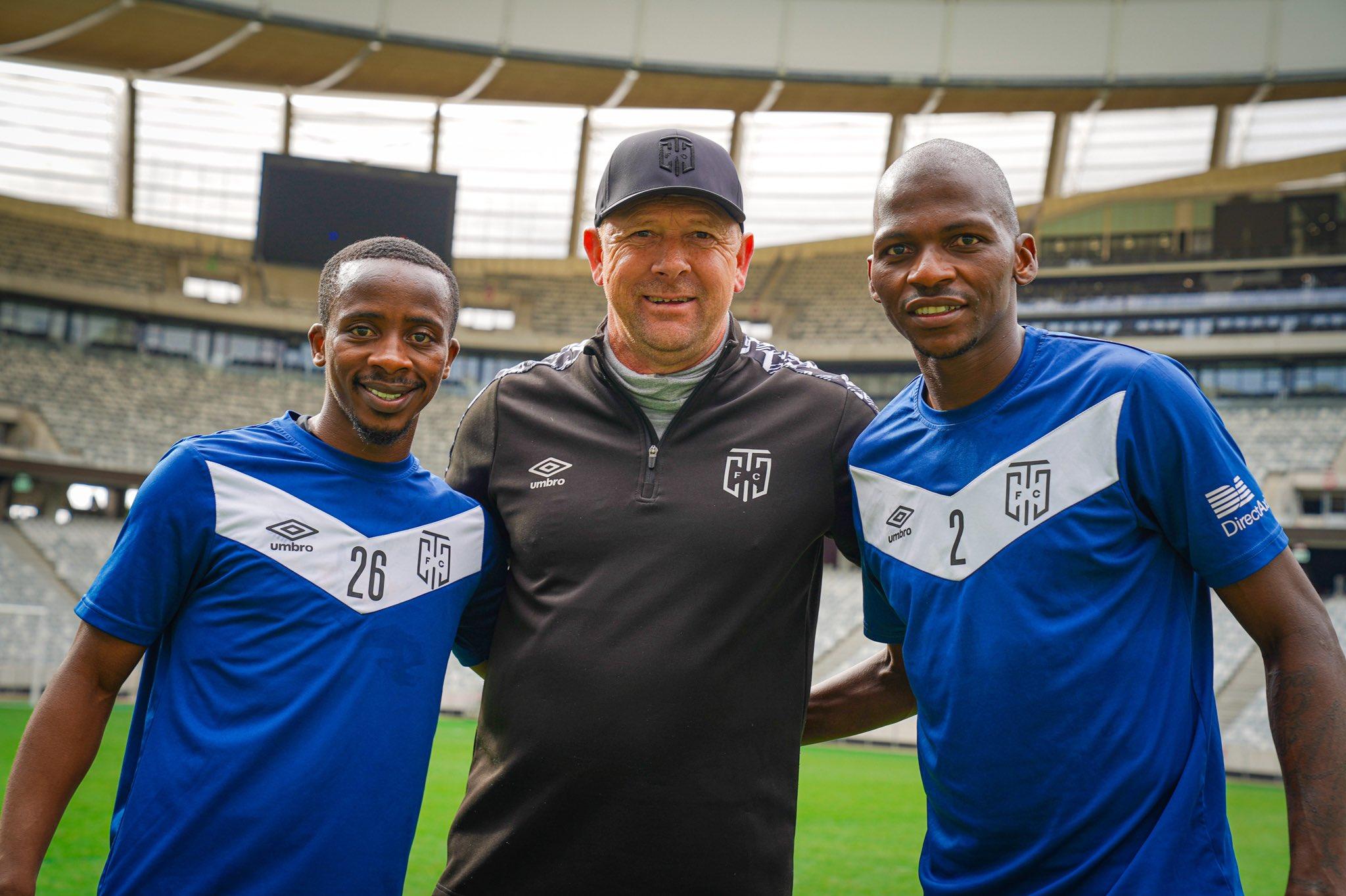 Thabo Nodada, Eric Tinkler & Thamsanqa Mkhize