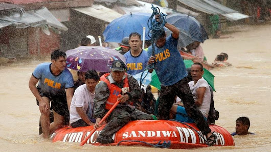 The Top 10 funny but possible excuses of the P-Noy Administration with the recent flooding in Metro Manila ~ Manila Daily