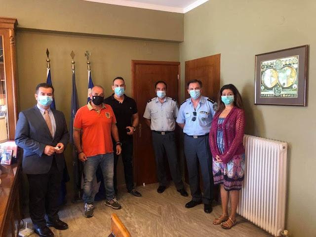 Συνάντηση του Αντιπεριφερειάρχη Αργολίδας με την Διεθνή Ένωση Αστυνομικών