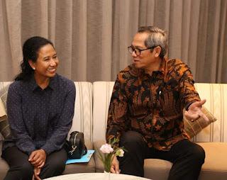 Kunjungan Kerja Menteri BUMN RI ke Laos, Vientiane