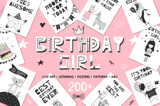 https://thehungryjpeg.com/product/115845-birthday-girl/SaraHuesca/