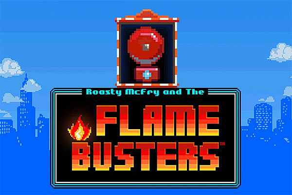 ULASAN SLOT FLAME BUSTERS (THUNDERKICK) | RTP 96,10%