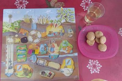 jeu et biscuits