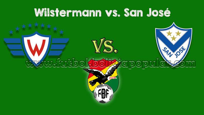 Wilstermann vs. San José - En Vivo - Online - Torneo Clausura 2018