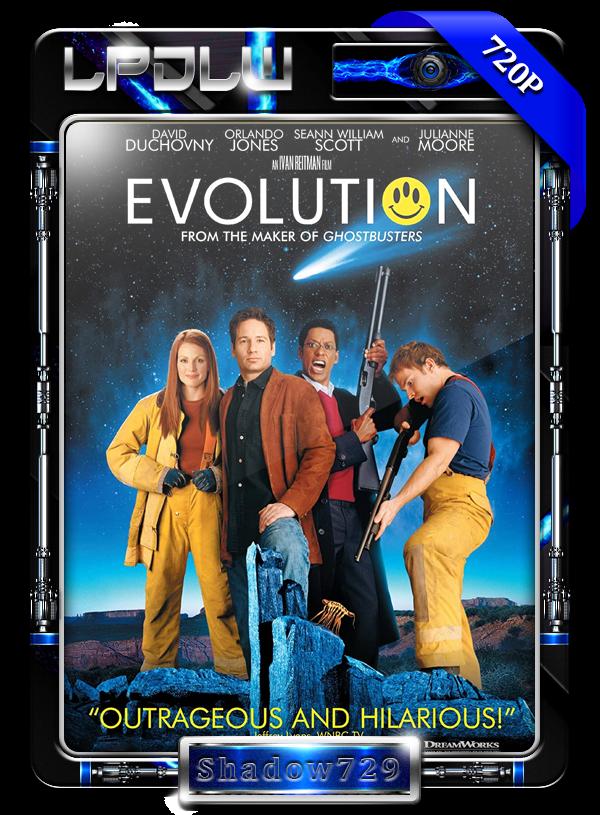 Evolution (2001) 1080p H264 Dual [Comedia]