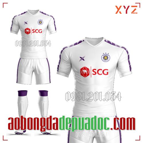 Áo Hà Nội FC 2019 Màu Trắng