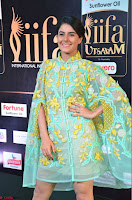 Isha Talwar in Transparent Cute Small mni dress at IIFA Utsavam Awards 2017  Day 2    HD Exclusive Pics 21.JPG
