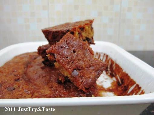 Resep Cake Wortel Dengan Mete Cincang & Chocolate Chips