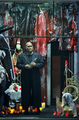 Stephen Milling (Hagen) - Wagner: Götterdämmerung - Bayreuth Festival (©Bayreuther Festspiele / Enrico Nawrath)