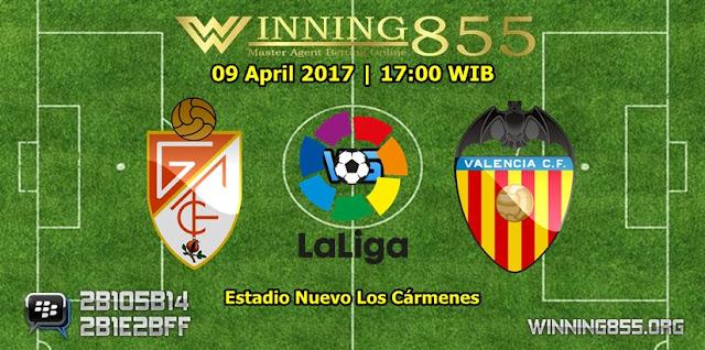 Prediksi Skor Granada vs Valencia 09 April 2017