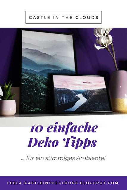 10 einfache Deko Tipps Pinterest