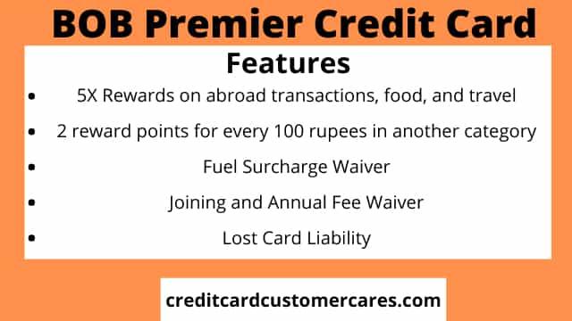 BoB Premier Credit Card