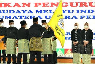 Dilantik Ketua PW MABMI Sumut,   Bupati Batu Bara : Amanat Akan Dijunjung Tinggi