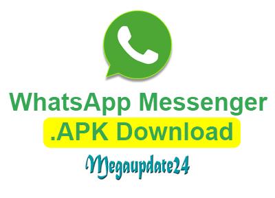 whatsapp messenger latest version apk file download