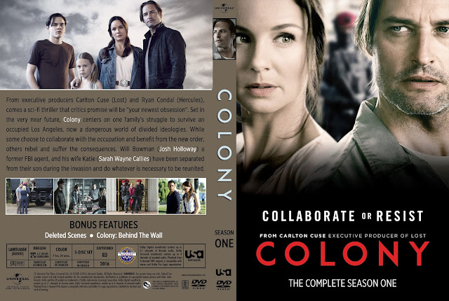Colony Season 1 DVD Cover