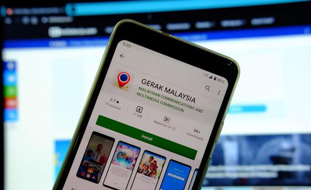 aplikasi gerak malaysia pkp
