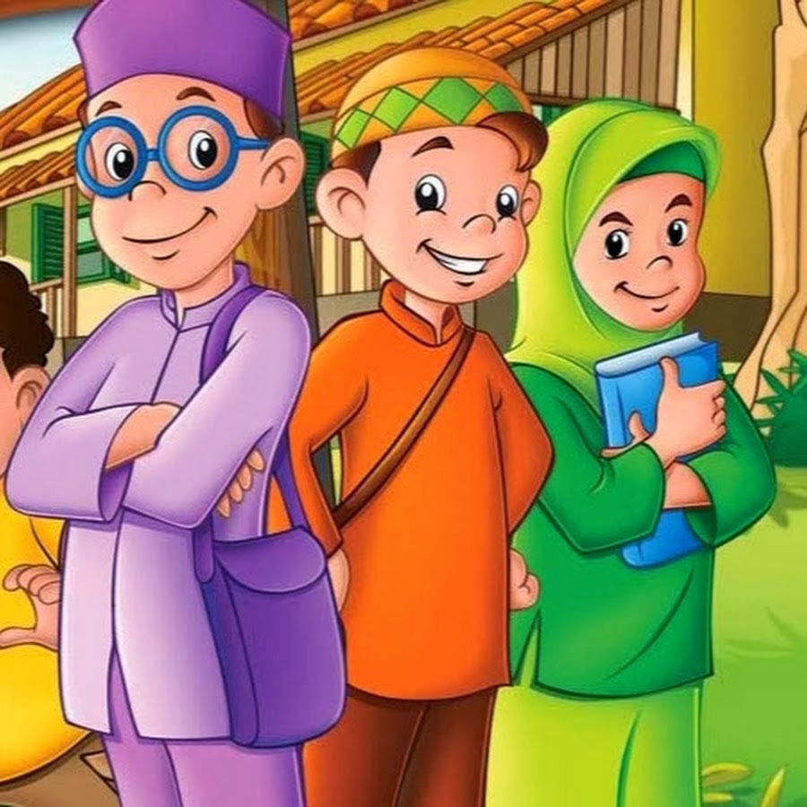 8300 Gambar Kartun Muslim Sekolah Gratis Terbaru
