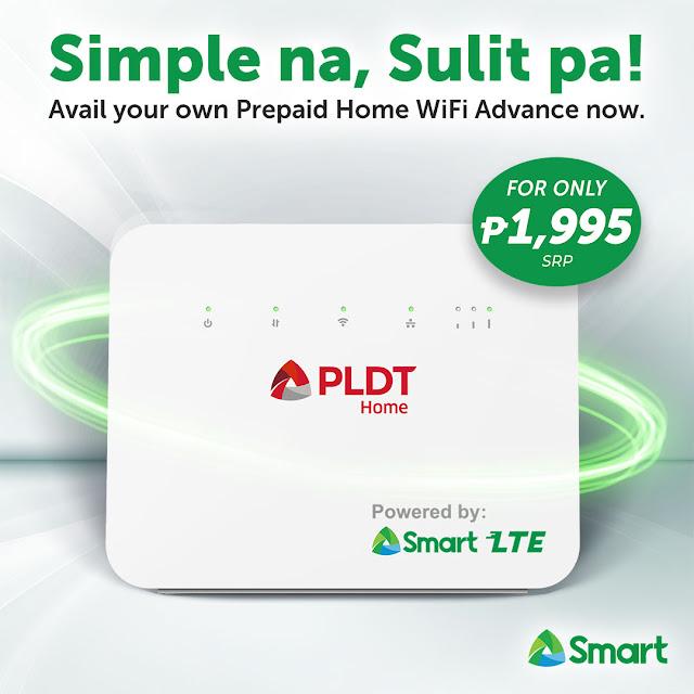 PLDT Home Prepaid WiFi Smart Gizmo Manila