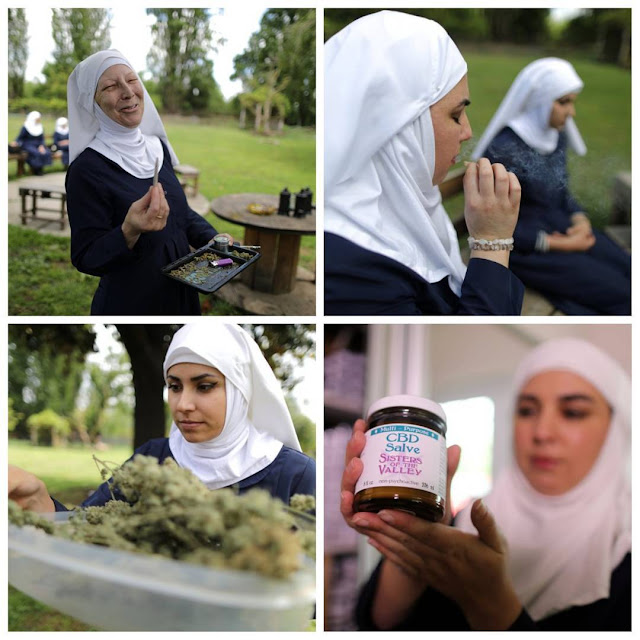 Nuns Denounce Christ, begin to sell Weed on Streets