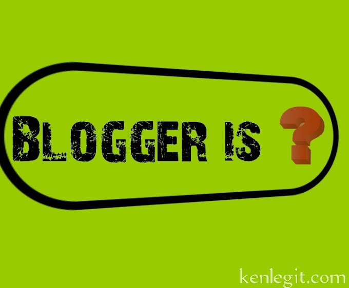 blogger is ??