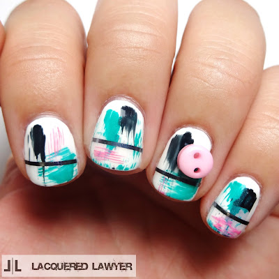 Lacquered Lawyer Nail Art Blog Bold Buttons